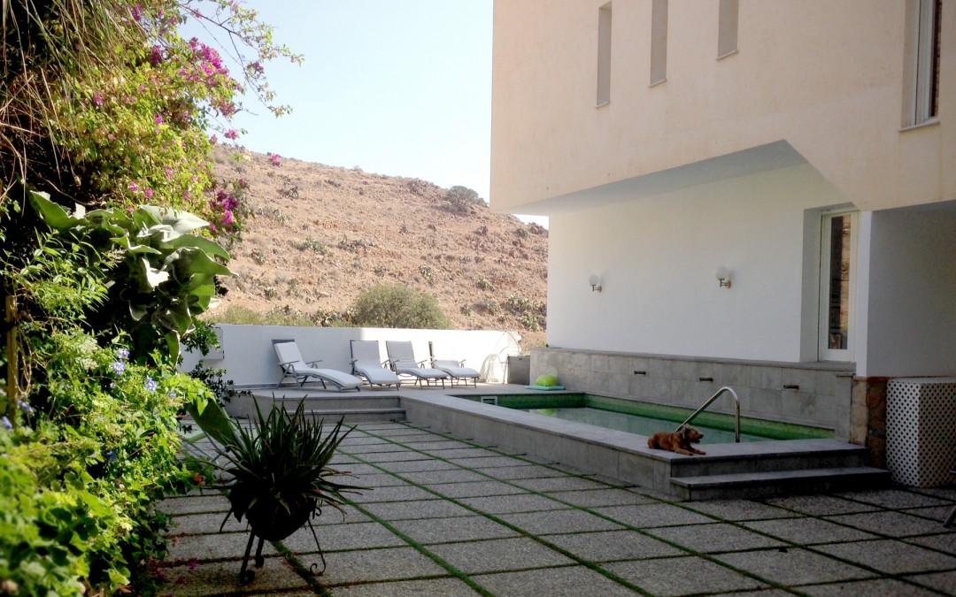 Una piscina en la Costa de Almería